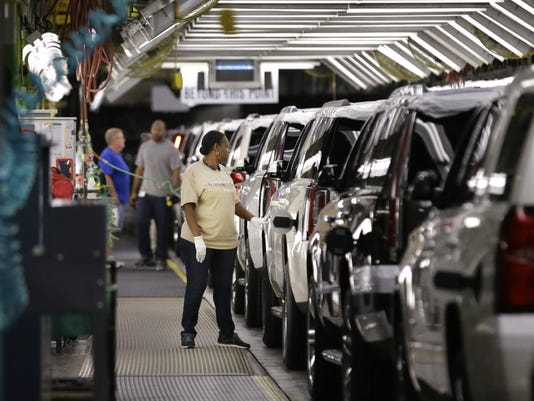 GM auto manufacturing