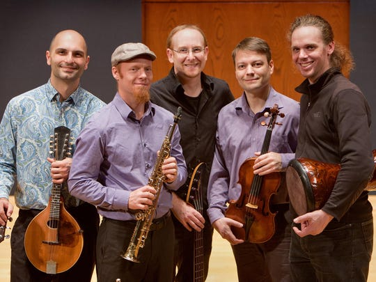 Journey West performs Sunday at St. Catherine of Siena Church in Ithaca.