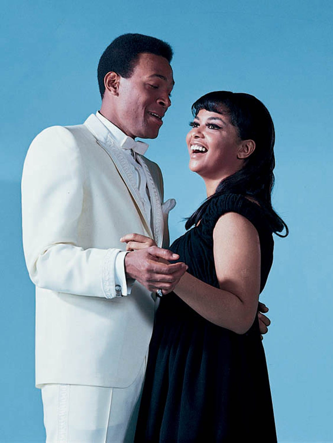 Marvin Gaye and Tammi Terrell in 1967