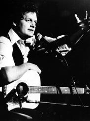 Singer-songwriter Harry Chapin performs at Avery Fischer