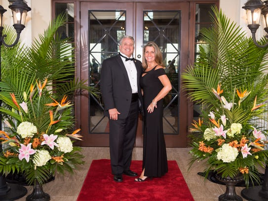 St. Lucie County Commissioner Chris and Theresa Dzadovsky