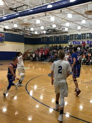 Action from Tuesday night, Owego v Maine-Endwell.