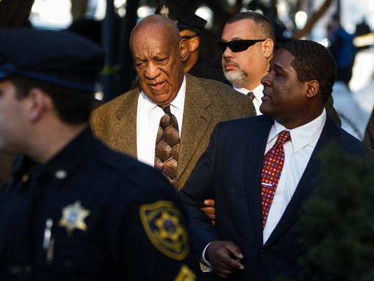 Bill Cosby at the Montgomery County Courthouse