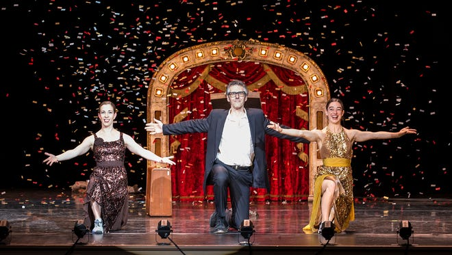 """Ira Glass joins Monica Bill Barnes and Anna Bass for """"Three Acts, Two Dancers, One Radio Host"""" Saturday at the Flynn Center."""