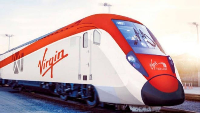 Caltrans and Virgin Trains USA have entered into a lease agreement that will allow the company to use existing Interstate 15 right of way for its high-speed rail service between Apple Valley and Las Vegas.
