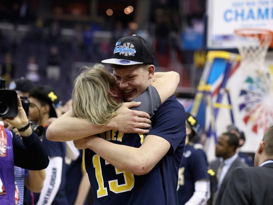 Michigan basketball's Moe Wagner feeds off attention on the big stage