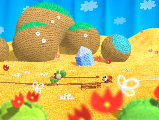"""Yoshi's Woolly World"" features an impressive visual"
