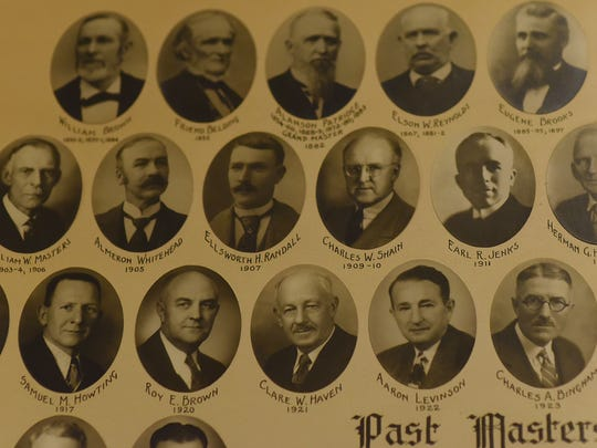 Notable past Masters include Almeron Whitehead, Charles W. Shain, Roy E. Brown and Charles A. Bingham.