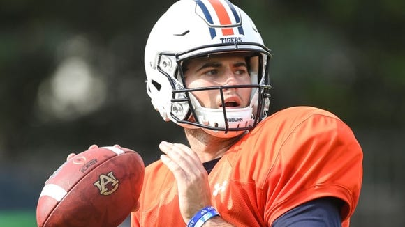 Jarrett Stidham will make his Auburn debut Sept. 2 against Georgia Southern.