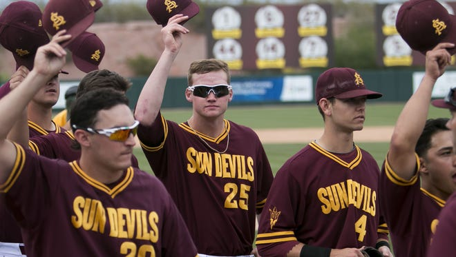 Arizona State baseball will open NCAA Tournament play against Clemson on Friday at the Cal State Fullerton regional.