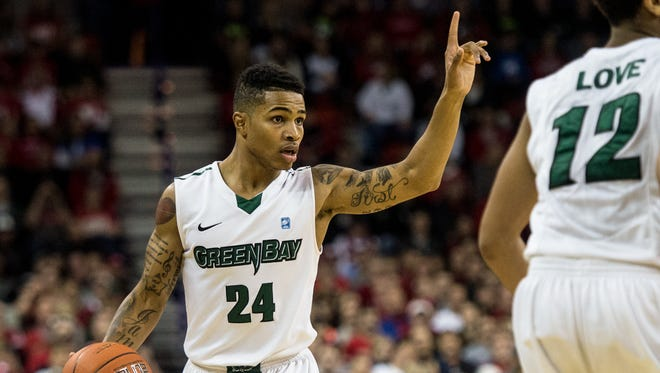UWGB guard Keifer Sykes returns for his senior season with confidence gained this summer.