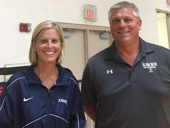 Kate Geenen and Brian Paschen will be co-head coaches