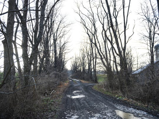 This is the path the Lebanon Valley Rail trail wants