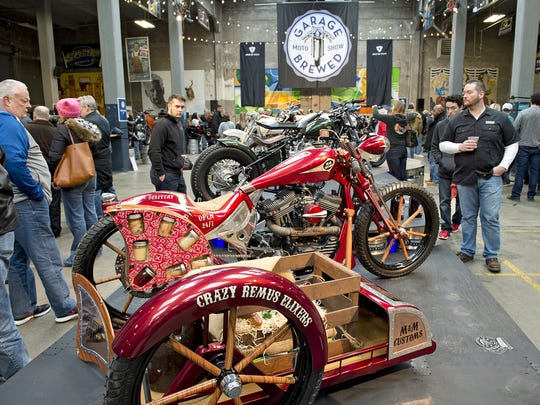 Rhinegeist Brewery hosted the 3rd annual Garage Brewed Moto show on Saturday, an invitational featuring custom bikes from garages across the region and, of course, lots of locally brewed beer.