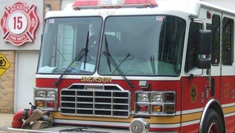 Jackson Fire Department truck
