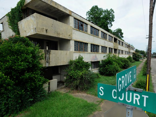 The Grove Court Apartments in Montgomery, Ala. on Friday June 13, 2014.
