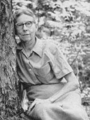 Louisiana environmentalist Caroline Dormon is pictured