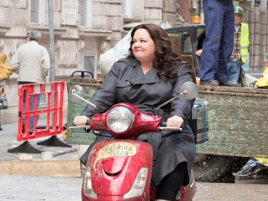 Melissa McCarthy plays a CIA analyst who goes undercover