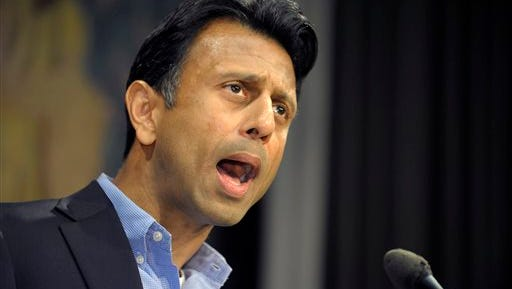 Gov. Bobby Jindal was the target of several political candidates.