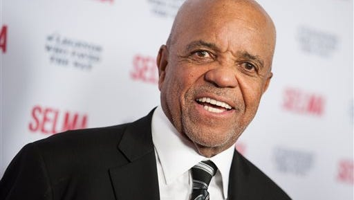 In a Dec. 6, 2014 file photo, Berry Gordy arrives at Selma And The Legends That Paved The Way Gala, in Goleta, Calif.