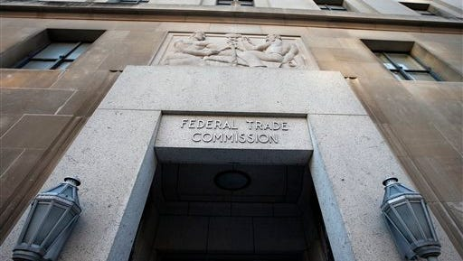 The Federal Trade Commission building in Washington on Wednesday, Jan. 28, 2015.