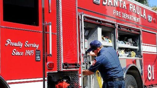 Santa Paula has had its own fire department since 1903.