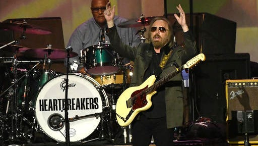 Honoree Tom Petty performs at the MusiCares Person of the Year tribute at the Los Angeles Convention Center on Friday, Feb. 10, 2017.