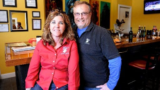 Carla and Allen White, owners of White Buck Vineyard and Winery
