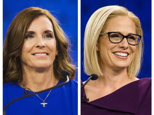 Aún no hay ganadora en la contienda por el senado de Arizona, entre Martha McSally y Kyrsten Sinema.