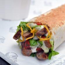 Taco Bell Cantina Power Steak Burrito