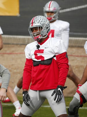 Ohio State linebacker Raekwon McMillan.