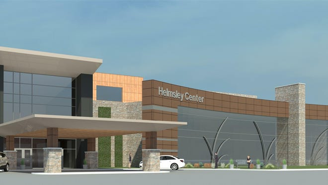 The future Helmsley Center in Pierre.