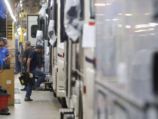 Electric rv winnebago drives toward electric powered for Electric motors of iowa city