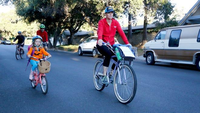 Cycling in Ventura County.
