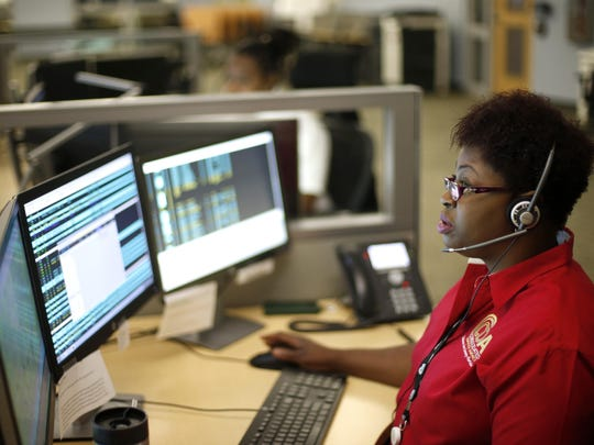 Deanna Williams is a new recruit who takes tier one administrative calls while awaiting her final training to start taking emergency calls at the CDA.