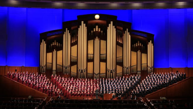 The Mormon Tabernacle Choir is based out of Salt Lake City but is known throughout the world.