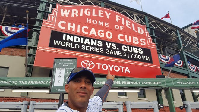 Merritt Island's Greg Cope was in Chicago during Games 3, 4 and 5 of the World Series.