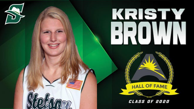 Kristy Brown is the fifth Hatter elected to the ASUN Hall of Fame.