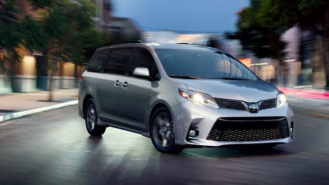 2020 Toyota Sienna AWD Minivan