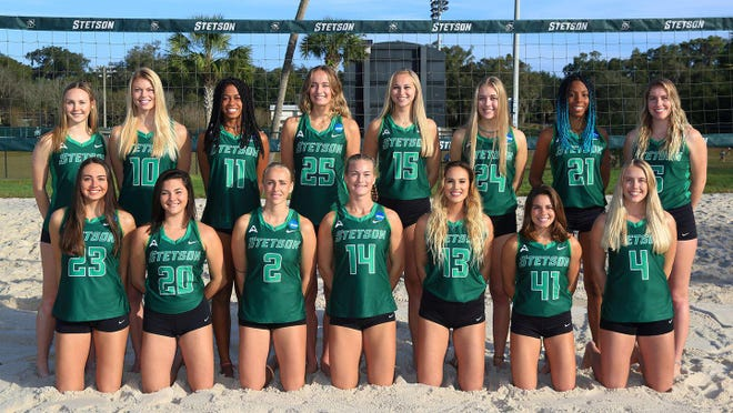 The Stetson beach volleyball team has earned the UMSC/AVCA Team Academic Award for the 2019-20 academic year.
