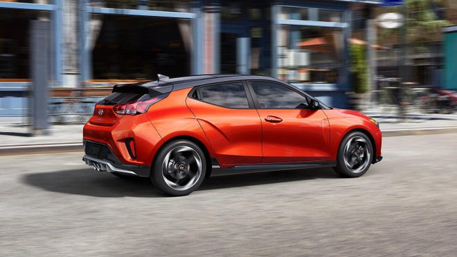 The Hyundai Veloster Turbo Ultimate can for from 0 to 60 miles an hour in about six seconds.