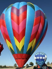Dozens of colorful and creatively shaped hot-air balloons will take over the skies Memorial Day weekend during the El Paso Balloon Festival.
