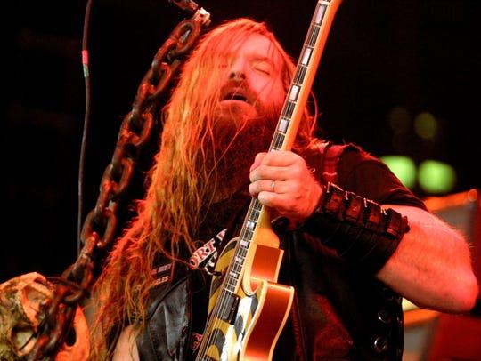 Zakk Wylde of Black Label Society performs during Ozzfest