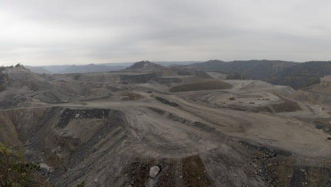 Appalachian coal mining.
