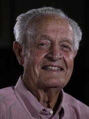 Gene Cronin, a member of the 1957 Lions football team,