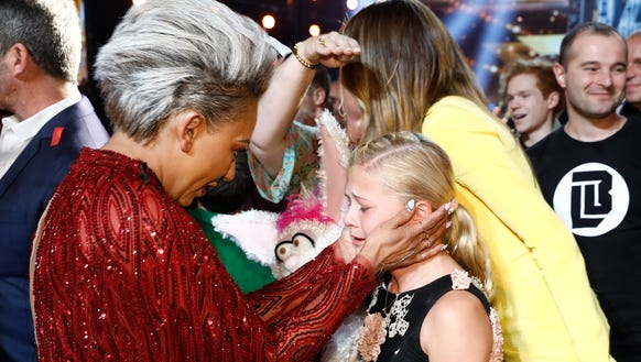 Judge Mel B, who pulled the Golden Buzzer for Darci