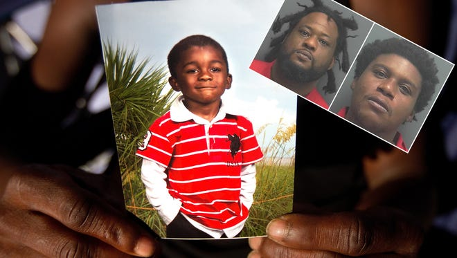 Thomas Dan Edison and Terrance Irons were arrested two weeks after the shooting death of five-year-old Andrew Faust in Dunbar.