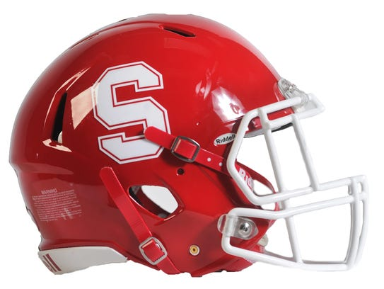 Susquehannock football helmet.