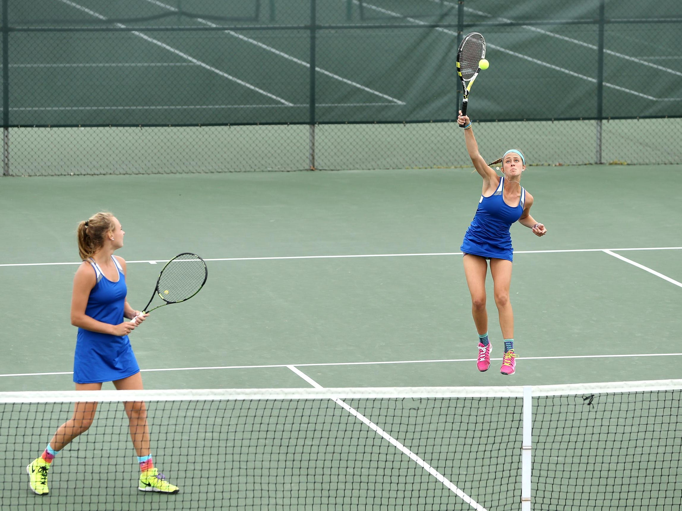 Carmel singles player falls in final; doubles team wins ...