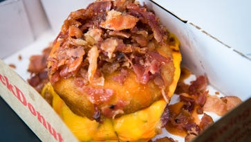 Asheville's oddest and best donuts: bacon, hot sauce, probiotics